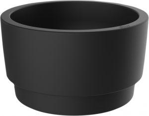 Kukkaruukku Elho Pure Grade Bowl musta 40 cm