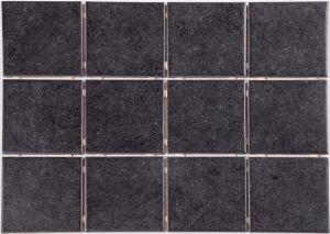 Lattialaatta Arctic 10 x 10 cm Musta