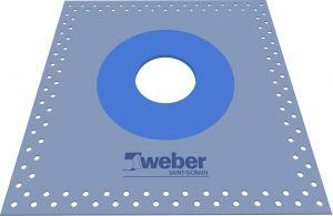 Läpivienti Weber SC 75-115 mm