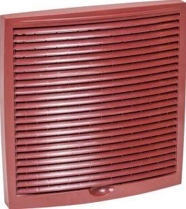 Monitoimi-ulkosäleikkö Vilpe 240 x 240 mm punainen
