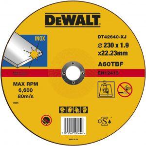 Katkaisulaikka DeWalt DT42640 230 x 1,9 mm Inox