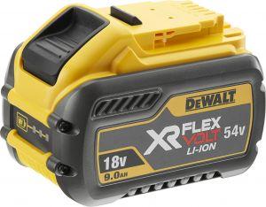 Akku DeWalt DCB547 18/54 V FlexVolt 9,0 Ah