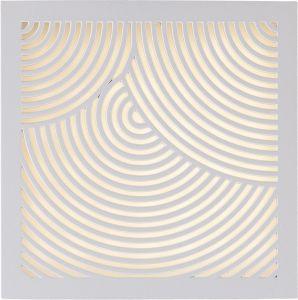 Ulkoseinävalaisin DFTP Maze Kaaret Valkoinen