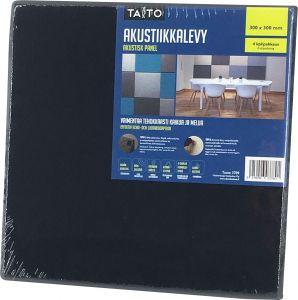 Akustiikkalevy Musta 300 x 300 mm