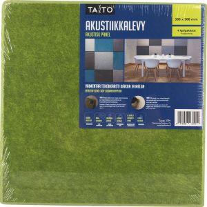 Akustiikkalevy Vihreä 300 x 300 mm