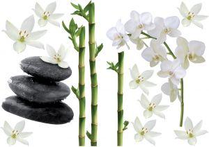 Seinätarra Plage Bambu ja Orchidea 2 kpl