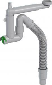 Keittiövesilukko Prevex Smartloc 1-altainen Mutterikiinnitys