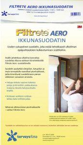 Ikkunasuodatin Filtrete Aero 1100 x 1300 mm