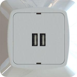 USB-latauspistorasia Etman 2-os
