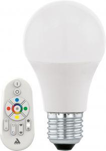 LED-lamppu Eglo Connect 9 W E27 Kaukosäätimellä
