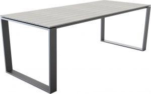 Pöytä harmaa 210 x 100 cm