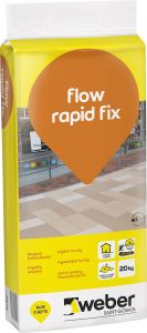 Lattialaasti Weber Flow Rapid Fix 20 kg