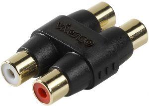 Audioadapter Vivanco RCA jatkokappale