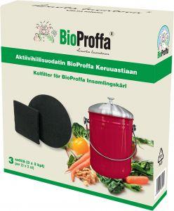Aktiivihiilisuodatin setti Bioproffa 3 x 2 kpl