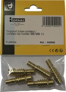 Kosketusputken pidin Toparc M6 MB 15 150 A 5 kpl