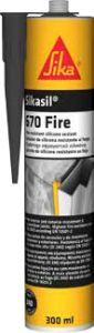 Silikonimassa Sikasil-670 Fire 300 ml