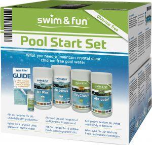Uima-altaan aloituspakkaus Swim&Fun klooriton