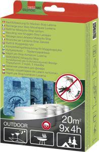 Täyttöpakkaus 9 kpl Hyttyskarkotinlyhty Swissinno