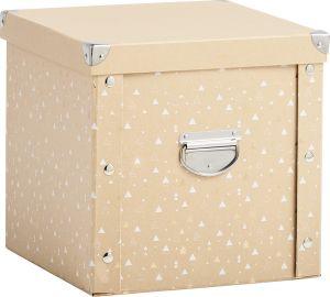 Säilytyslaatikko Zeller Christmas Box Luonnollinen/kulta