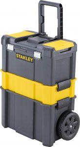 Työkalupakki Stanley Essential Metallisalvoilla