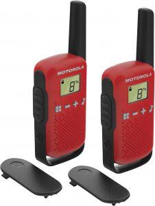 Radiopuhelinpari Motorola Talkabout T42 Punainen
