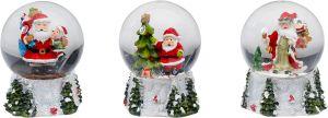 Joulukoriste lumisadepallo 11 cm