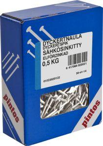 Dyckertnaula Pintos Ura 45 x 1,7 mm Sähkösinkitty