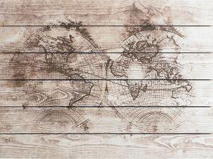 Sisustustaulu World Map
