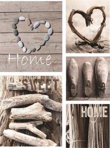Sisustustaulu Home Sweet Home 5-os