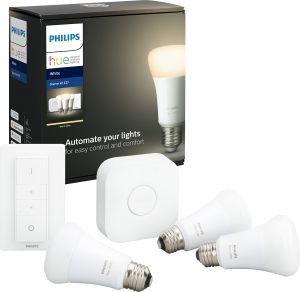Aloituspakkaus Philips Hue White E27 3 kpl