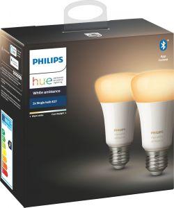 Älylamppu Philips Hue White Ambiance 2 kpl