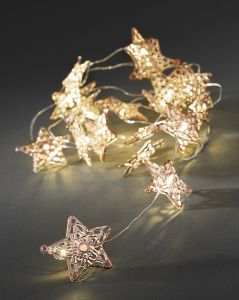 Valosarja Konstsmide Metallitähti 20 LED