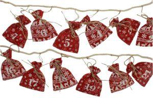 Joulukalenteripussit 24 kpl narussa