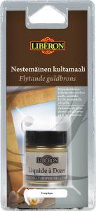 Kultamaali Liberon Compiégne Vaalea keltakulta 30 ml