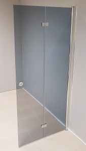 Taittuva suihkuseinä Nordium savu 90 cm