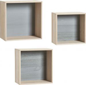 Seinähylly Zeller Cubes 3-os