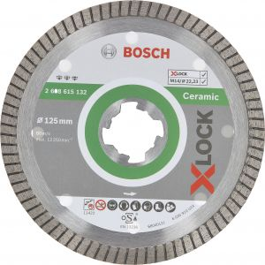 Timanttilaikka Bosch X-LOCK Ceramic 125 x 22,23 x 1,4 x 7 mm