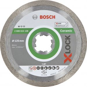 Timanttilaikka Bosch X-LOCK 125 mm STD Ceramic