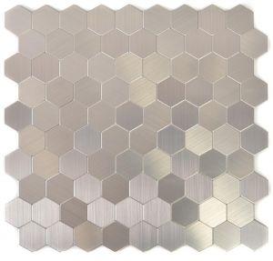 Tarramosaiikki Hexagon Metal