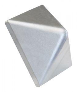 Tolpanhattu alumiini korkea 94 x 94 mm