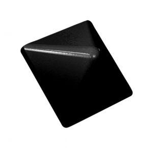 Tolpanhattu alumiini musta 78 x 78 mm