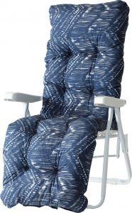 Pehmuste Varax Baden Baden tuoli sininen