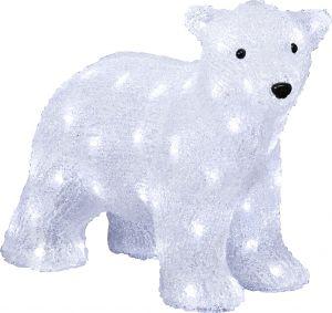 Jääkarhunpentu konstsmide 64 LED