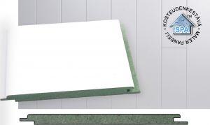 Paneeli Maler MDF Kosteudenkestävä STP Valkoinen 10 x 160 x 2070 mm