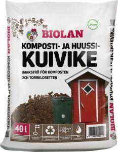 Komposti- Ja Huussikuivike Biolan 40 l