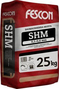 Saumaushiekka Fescon SHM Musta 25 kg