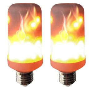 Setti 2 kpl Lamppu Colors By Halo Design Palava Liekki E27