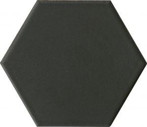 Lattialaatta Hexo Musta