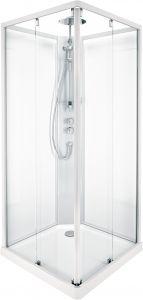 Suihkukulma Ido Showerama 10-5 Nelikulmainen 90 x 90 cm