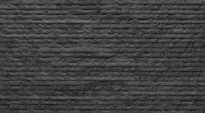 Seinälaatta Strip 31,5 x 56,5 cm Musta